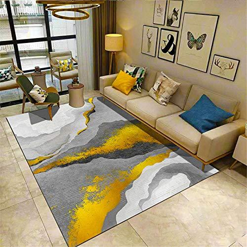 RUGMRZ Alfombra De Salon Simple Geométrico Suave y Hermosa, Salón Limpio, Alfombra...