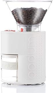 BODUM ボダム BISTRO ビストロ 電気式コーヒーグラインダー ホワイト 【正規品】 10903-913JP-3