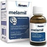 MELAMIL de Humana – Melatonina al 99%, Complemento Alimenticio en gotas que ayuda a conciliar el sueño de niños y adultos, 30ml.