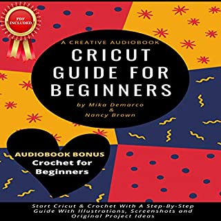Cricut Guide for Beginners cover art