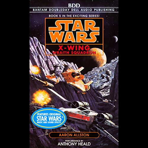 Star Wars: The X-Wing Series, Volume 5: Wraith Squadron                   By:                                                                                                                                 Aaron Allston                               Narrated by:                                                                                                                                 Anthony Heald                      Length: 3 hrs and 6 mins     197 ratings     Overall 4.3