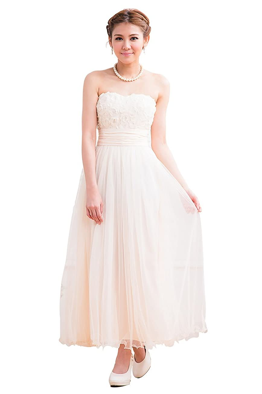 広く合理的経済結婚式ドレス ワンピース ロングドレス ウエディングドレス パーティードレス フォーマルドレス ブライズメイド ドレス オフショルダー ワンピース エンパイアドレス 演奏会 ロングドレス 2次会ドレス 花嫁