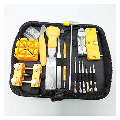 SSXPNJALQ Watches Tools, Watches With Regulators, Maintenance Tools, Watch Repair Tool Kit, Adjustable Rear Lid Bottle Opener,horlogerie (Color : SET011)
