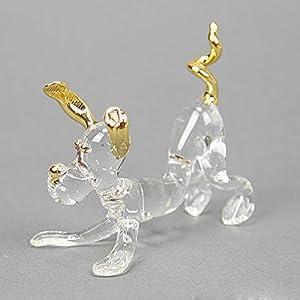 GlassOfVenice - Perro de cristal de Murano y oro