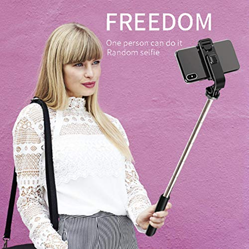 beeyuk Palos Selfie Trípode Monopie Soporte Plegable Portátil Celka Stick Photo Shoot Tablet Cámara De Video para Teléfono Inteligente Control Remoto Rotación Libre Ligera advancement