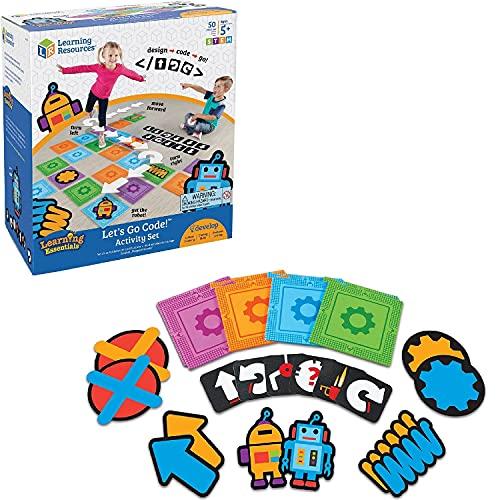 ラーニング リソーシズ(Learning Resources) 幼児向けプログラミング教材 プログラミングカード レッツゴー...