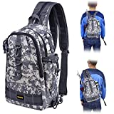PLUSINNO Ice Fishing Tackle Backpack Storage Bag,Outdoor Shoulder Backpack,Fishing Gear...