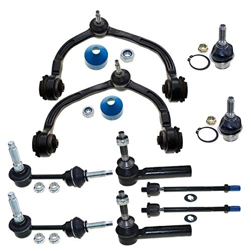 8 New Pc Suspension kit for Lincoln Navigator Ford Expedition 2003-2004 Tie Rods