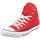 Converse Chuck Taylor All Star - Hi - Rojo Canvas