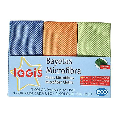 Lagis Bayetas Microfibra 3 Unidades