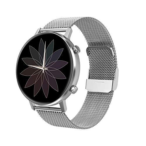 LC.IMEEKE Smartwatch für Damen Herren, 1,3 Zoll Farbbildschirm Fitnessuhr Fitness Tracker Armband Uhr mit Pulsmesser Aktivitätstracker Pulsuhr Schrittzähler, IP67 Smart Watch Armbanduhr Sportuhr