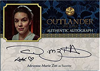 Outlander Season 2 Autograph Card AMZ Adrienne-Marie Zitt as Suzette