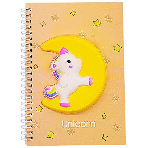 Cuaderno para Niños, Cuaderno de Unicornio, Cuaderno de Regalo de Cumpleaños A5 para Niños y Niñas, Utilizado para Escribir Libros, Festivales, Regalos de Cumpleaños para Niñas, 21 * 14