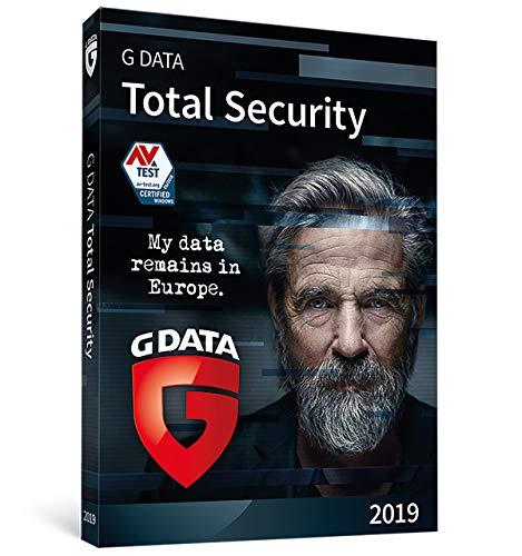 G DATA Total Security 2019 | 3 appareil | 1 An | PC | Code d'activation PC - envoi par email