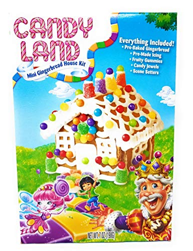 Candy Land Mini Gingerbread House Kit