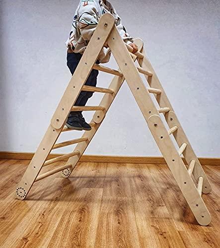 Triángulo Pikler transformable. Fabricado artesanalmente en España