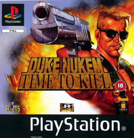 PS1 - Duke Nukem: Time to Kill