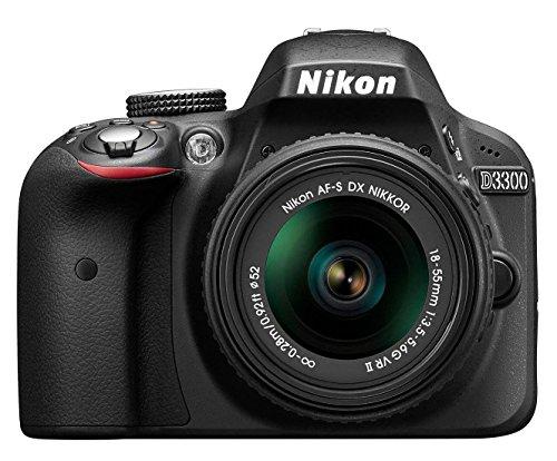 Nikon D3300 Kit schwarz + AF-S DX 18-55 VR II