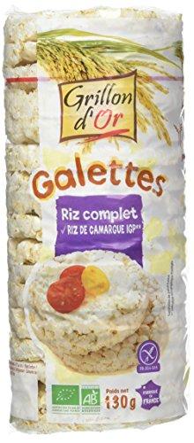 Grillon dor Galettes au Riz Complet 130 g BIO