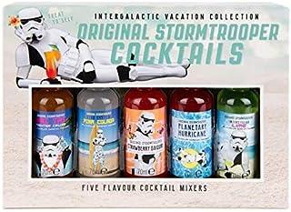 Modern Gourmet Foods, Stormtrooper Vakantie Cocktail Mixers, Set van 5 Smaken Inclusief Mai Tai, Daiquiri en Margarita