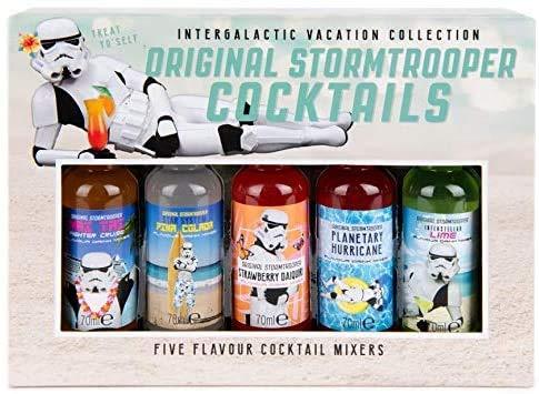 Modern Gourmet Foods - Original Stormtrooper Cocktail Mix-Set - Geschenkset Mit 5 Cocktail-Mischungen à 70 ml