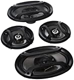 Pioneer TS-165P + TS-695P Two Pairs 200W 6.5' + 230W 6x9 Car Audio 4 Ohm Component Speakers