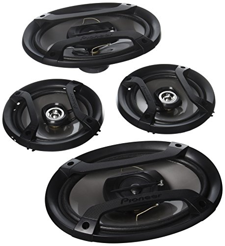 "Pioneer TS-165P + TS-695P Two Pairs 200W 6.5"" + 230W 6x9 Car Audio 4 Ohm Component Speakers"