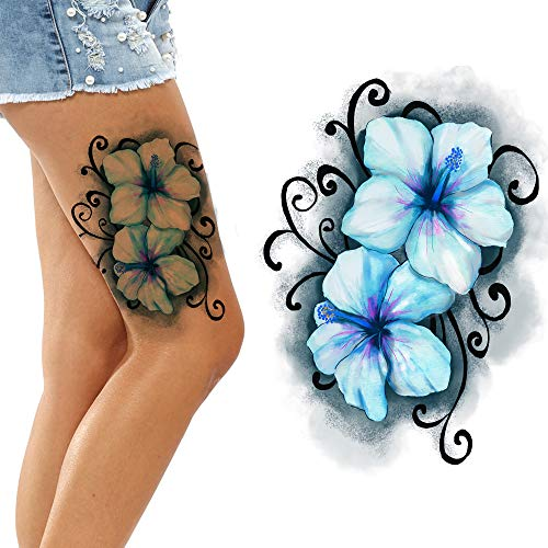 Butterfly Tattoos Temporary Tattoo Kids Children Women face Fake Art Body Stickers Makeup Party Temp Realistic Tattoo Cute Colorful Butterflies Cosplay
