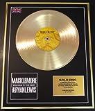 MACKLEMORE/Goldene Schallplatte Record Limitierte