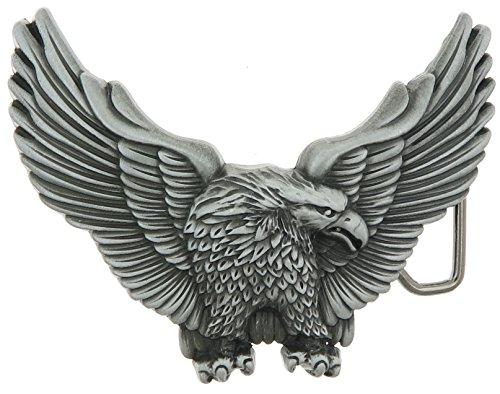 Eagle Wings Spread Belt Buckle
