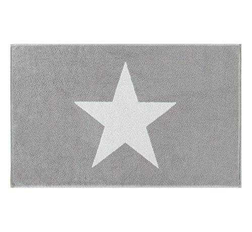 Cawö Home Badematte Stars 524 Silber - 76 50x80 cm 50x80 cm