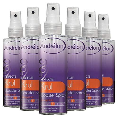 Andrélon Styling Booster Perfecte Krul Haarspray voor krullend haar - 6 x 150ML - Voordeelverpakking