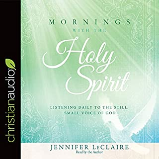 Mornings With the Holy Spirit audiobook cover art