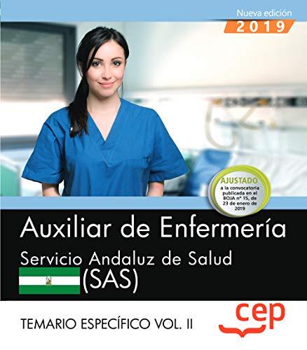 Auxiliar de enfermeria servicio andaluz de salud sas temario espec