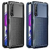 VGUARD 2 Pack Cover per Huawei P Smart PRO 2019 / Honor 9X PRO, [Fibra di Carbonio] Custodia...