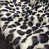 Yimihua Leopard kunstpelz Stoff Fellimitat Hase Stoffe
