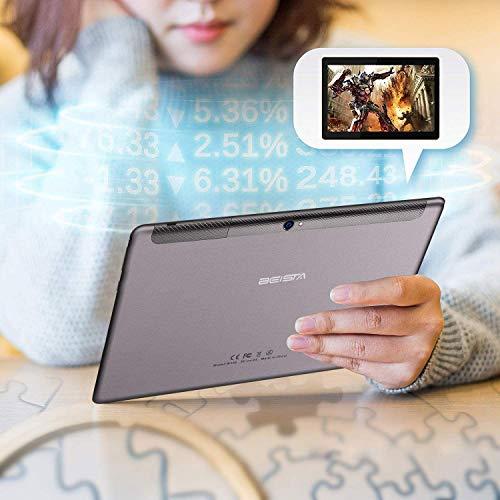 『BEISTA 4G LTEタブレット10インチ-Android 10.0 、3GB + 64GB ROM、オクタコア、ダブルSim、WiFi、デュアルステレオスピーカー-Grey』の6枚目の画像