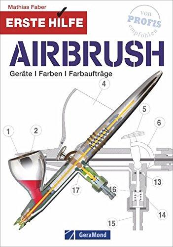 Airbrush Modellbau und Modellbahn: Geräte, Farben und Farbaufträge. Erste Hilfe für Modellbauer beim Farbauftrag. Erste-Hilfe-Anleitungen bei häufig gemachten Fehlern.: Gerte, Farben, Farbauftrge