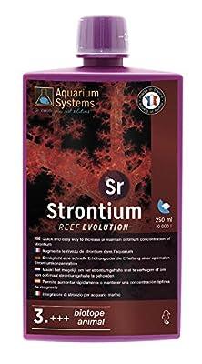 Aquarium Systems Reef Evolution Strontium en Liquide pour Aquariophilie 250 ML