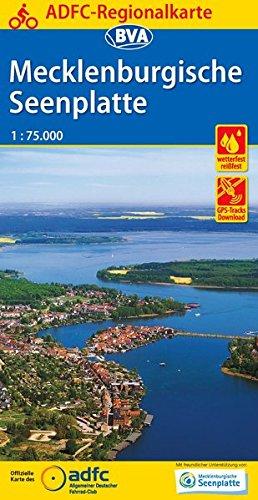 ADFC-Regionalkarte Mecklenburgische Seenplatte 1:75.000, reiß- und wetterfest, GPS-Tracks Download (ADFC-Regionalkarte 1:75000)