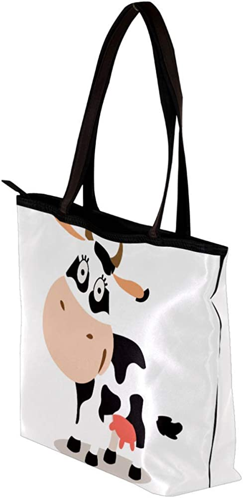 Handbag for Girls Cartoon Colorful Goldfish Shoulder Bag Women Tote Bag