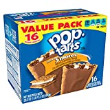 Kellogg's Pop-Tarts Frosted S'mores Toaster Pastries - Fun Breakfast for Kids, Value Pack (16 Count)