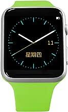 ون توتش - ساعة ذكية WT12 مع منبه بخاصية الاهتزاز ومشغل MP3 ومنفذ سماعات - اخضر