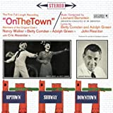 "album cover: ""On the Twon"" Original studio cast recording, 1960"
