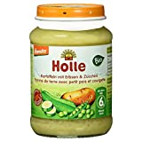 Holle Bio Kartoffeln mit Erbsen und Zucchini, 190g -