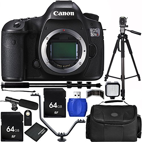 Check Out This Canon EOS 5DS R Digital SLR with Low-Pass Filter Effect Cancellation (Body Only) Bund...