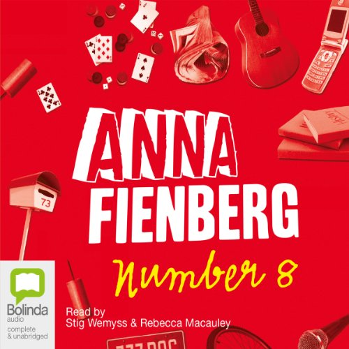 Number 8 audiobook cover art