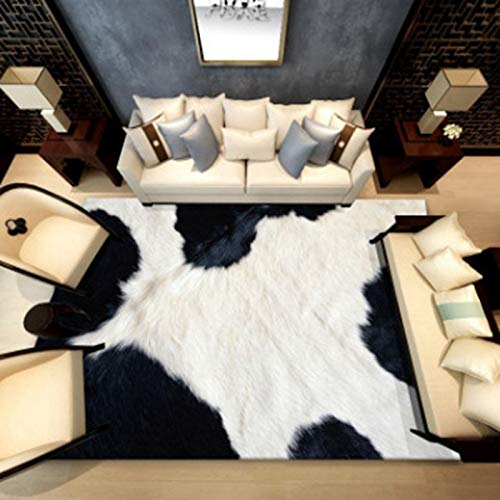 KFEKDT Alfombra geométrica con Estampado de Animales Área de Alfombra Sala de Estar Dormitorio Decoración del hogar Sala de Estar Alfombra Decorativa A3 200x300cm