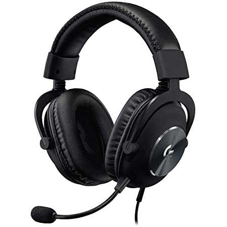 Logitech G PRO X Gaming Headset (2nd Generation) with Blue Voice, DTS Headphone 7.1 and 50 mm PRO-G Drivers, for PC, Xbox One, Xbox Series X|S,PS5,PS4, Nintendo Switch, Black (Renewed)