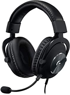 Logitech G PRO X Gaming Headset (2nd Generation) with Blue Voice, DTS Headphone 7.1 and 50 mm PRO-G Drivers, for PC, Xbox ...